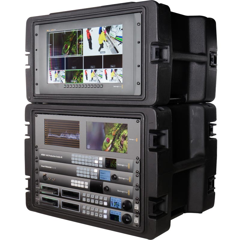 Portable production unit for live event filming
